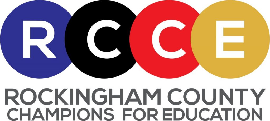 Rockingham County Champions Of Education logo